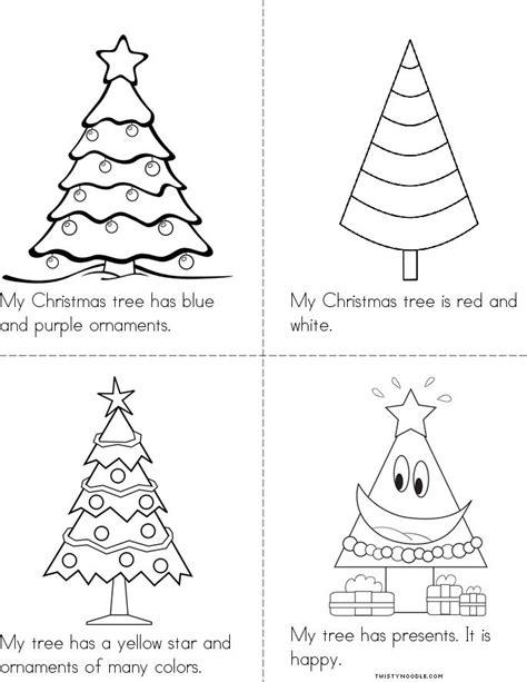 christmas tree printable book my christmas tree book twisty noodle