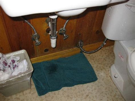 leaking bathroom sink busted toilet handle picture of christopher creek lodge