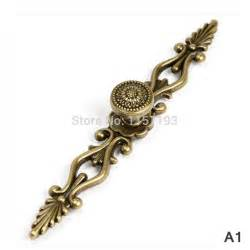 zinc alloy 220mm vintage furniture cabinet drawer pulls
