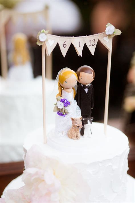 Wedding Cake Topper Ideas by Top 25 Wedding Cake Topper Ideas Tulle
