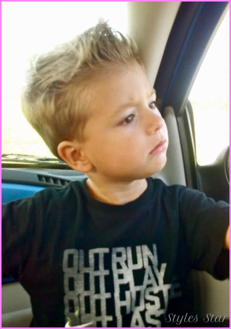 hair designs for 5 year old boys cool little boy haircuts stylesstar com