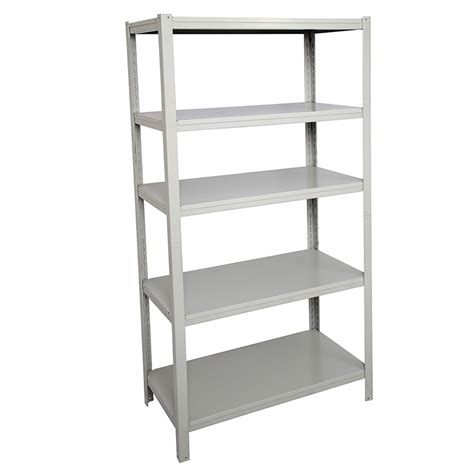 focus boltless easy to assemble metal open shelving unit