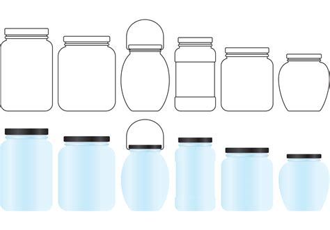 mason jar vectors   vectors clipart
