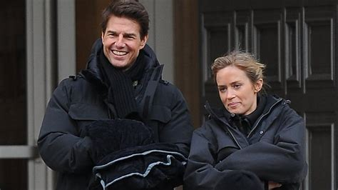 film tom cruise emily blunt tom cruise i m always signing boobs the advertiser