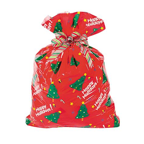 jumbo holiday gift bags oriental trading