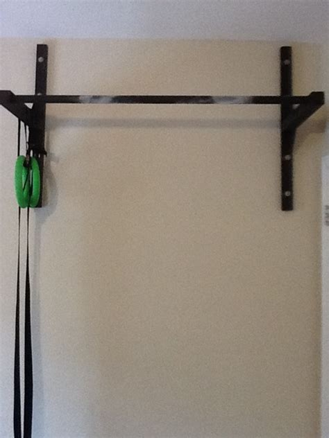 Garage Pull Up Bar by Garage Wall Pull Up Bar Stud Bar Ceiling Or Wall