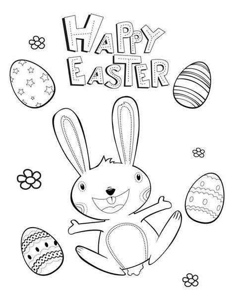 free coloring pages for easter printables easter coloring pages activities coloring home