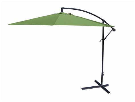 Offset Patio Umbrellas Patio Umbrellas 10 Ft Offset Umbrella Olive