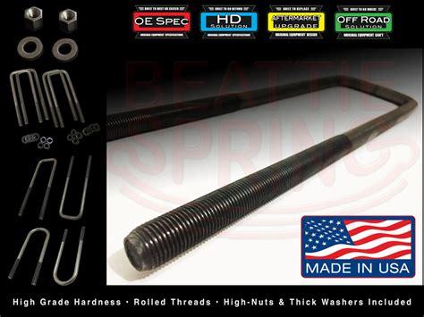 bolts ubolts  bolts custom   sizes chevy gmc ford dodge trailer ebay