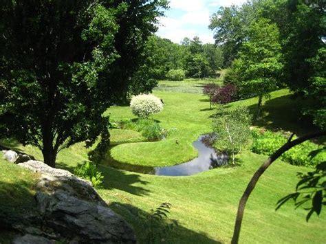 Innisfree Gardens by Bridge The Lake Picture Of Innisfree Gardens