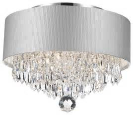 white chandelier with crystals 3 light chandelier with white drum shade chrome