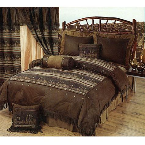 southwestern comforter set mustange horses southwestern style bedding set available