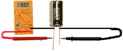 capacitor reading low how to test a capacitor one by zero electronics