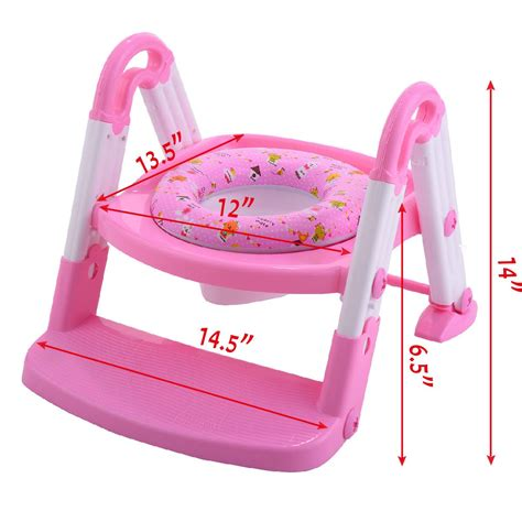 Toddler Potty Chair by 3 In 1 Fold Baby Potty Toilet Chair Seat Step