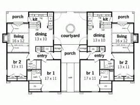 duplex bungalow plans duplex house plans bungalow home decor