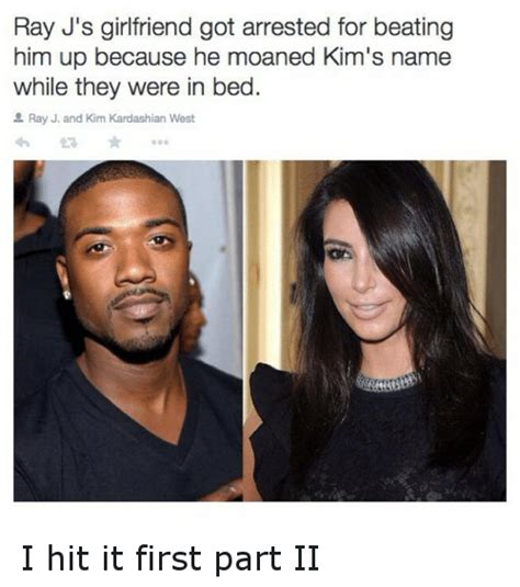 Ray J Kardashian Meme - ray j s girlfriend got arrested for beating him up because