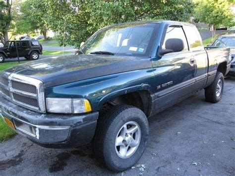 dodge ram 1500 4 door buy used 1999 dodge ram 1500 4 door 4x4 no reserve in