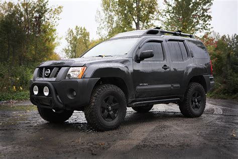 lifted nissan xterra lift completed pictures second generation nissan