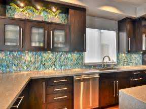 Kitchen Glass Tile Backsplash Kitchen Coastal Mosaic Shape Glass Tile