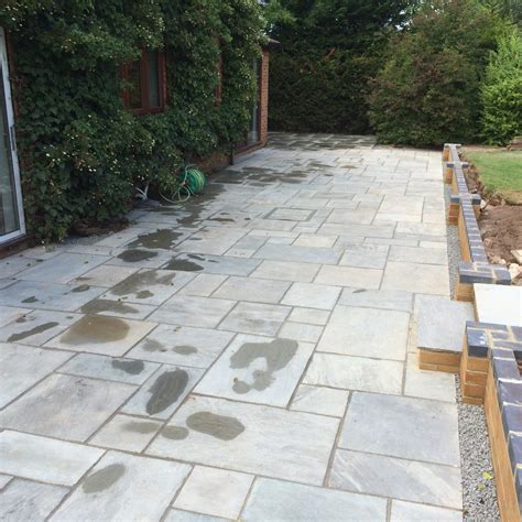 Indian Patios new indian sandstone patio redmarley gloucestershire