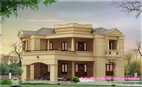 different house plans different house elevation exterior designs home kerala