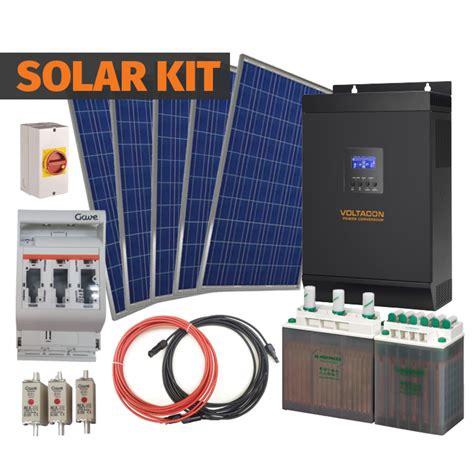 Melanox Comple Kit 2 1kva 24v complete grid kit