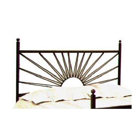 buy garden wrought iron headboard size metal finish