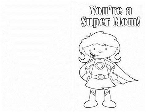 Simple Mothers Day Card Activities With Templates For 6th Graders by Easy Printable Mothers Day Cards Ideas For Family