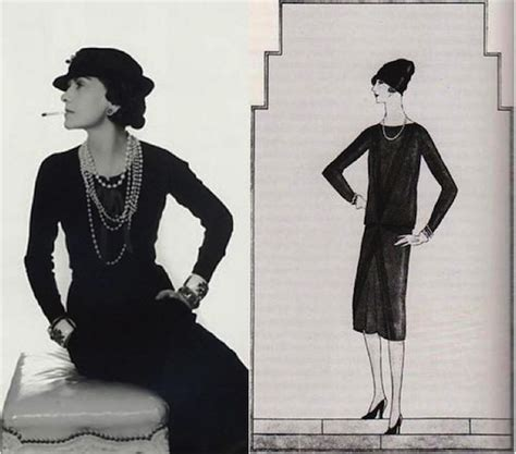 coco chanel little people 1847807712 the little black dress a brief history coco chanel elegant and fashion beauty