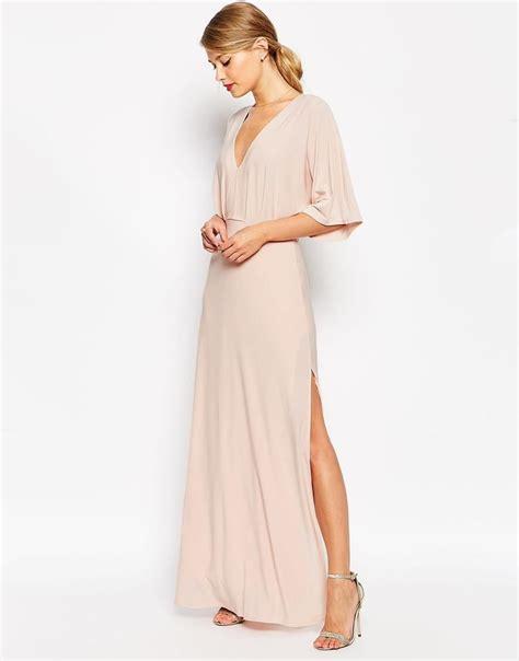 Joana Kimono Maxidress by Kimono Plunge Maxi Dress July 23rd 2017