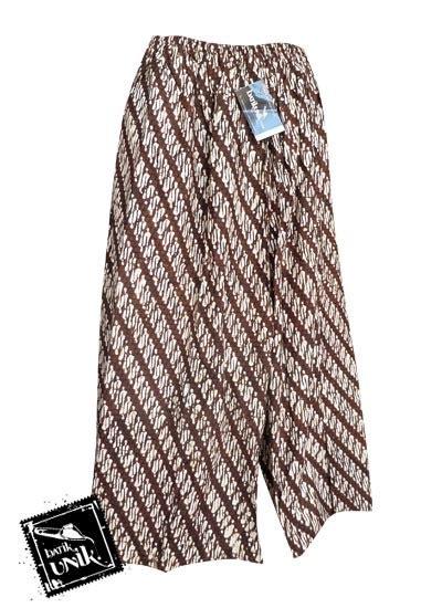 Celana Batik Jogja celana batik sarung panjang motif batik jogja klasik bawahan rok murah batikunik