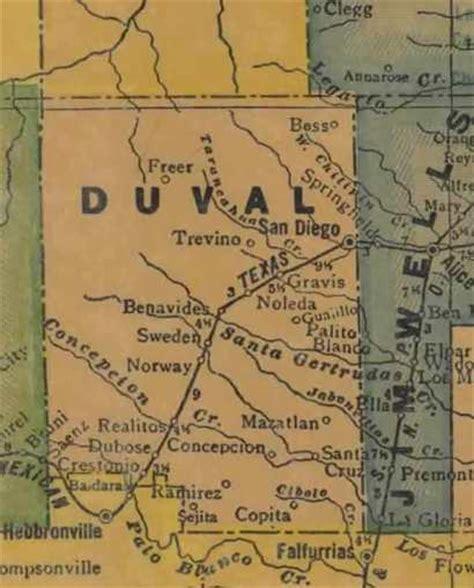 duval county texas map duval county texas