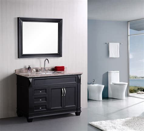 bathroom vanities single adorna 48 quot single bathroom vanity elegantly constructed of
