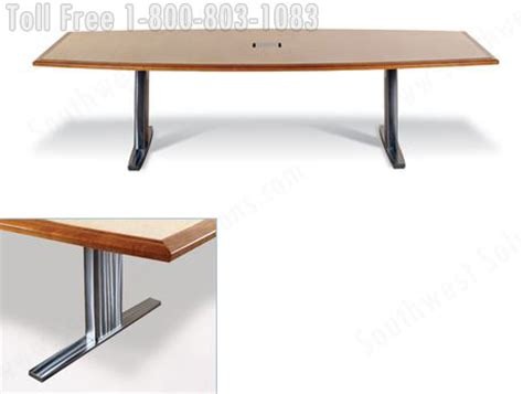 Metal Conference Table Legs Wood Veneer Conference Tables Large Oversized Office Furniture