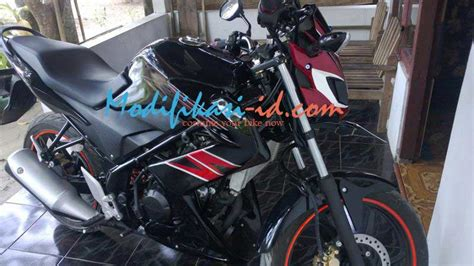 Half Fairing New Cb150r Model Hitam Doff half fairing cb150r model z250 modifikasi id fairing store
