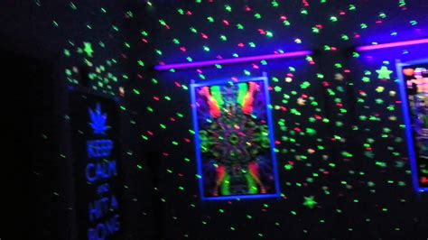 pictures of beautiful black light rooms my trippy room youtube