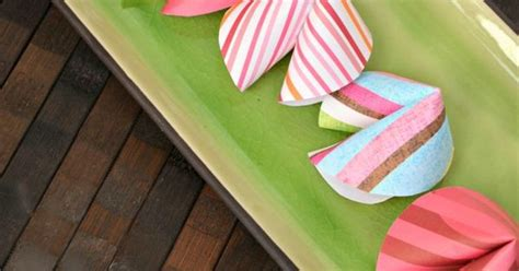 How To Make Fortune Cookies Out Of Paper - make your own fortune cookies out of paper domestic