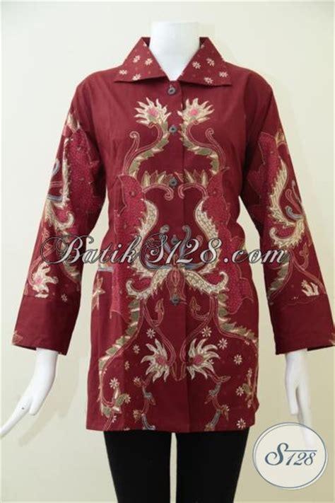 Pakaian Wanita Blouse Wanita Motif Batik aneka kerr junglekey co uk image