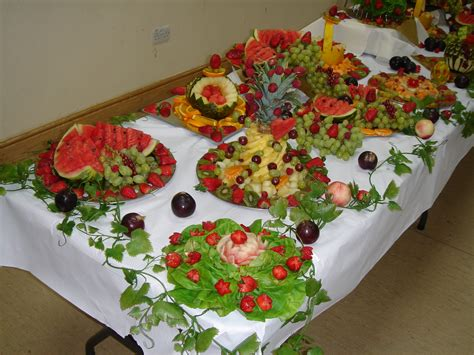 Fruit For Decoration by Wedding Decoration Best Wedding Fruit Decorations Ideas