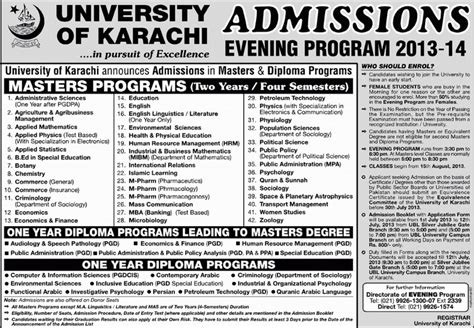 Evening Mba Programs In Karachi by Masters Program Masters Programs Business Communication