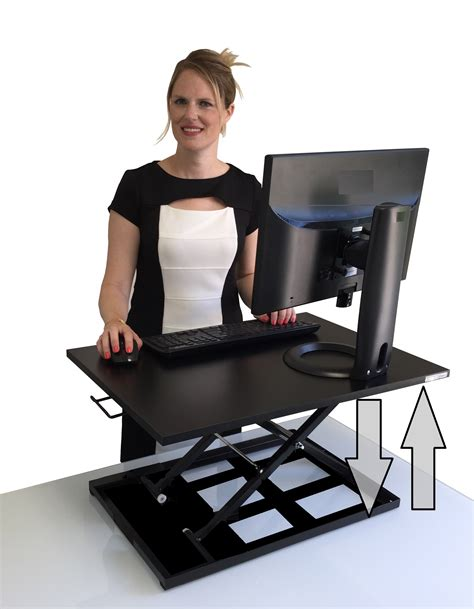 standing desk for person x elite pro height adjustable sit stand desk