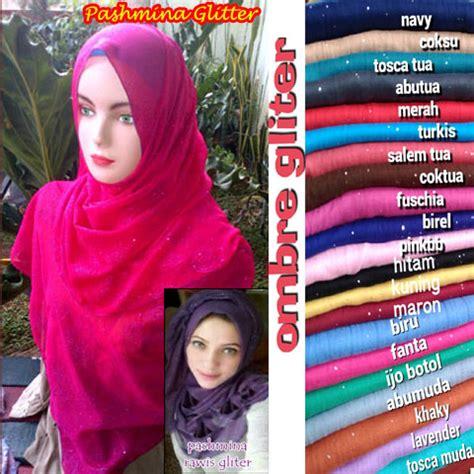 grosir pashmina ombre glitter sentral grosir jilbab kerudung i supplier jilbab i retail