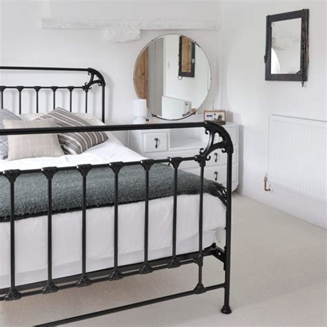 bedroom ideas with metal beds choose a slimline black metal bed frame small bedroom