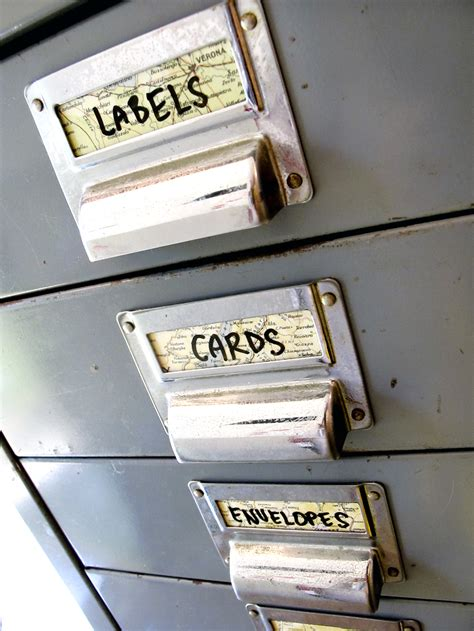 filing cabinet labels filing cabinet labels vintage map or custom colour felt