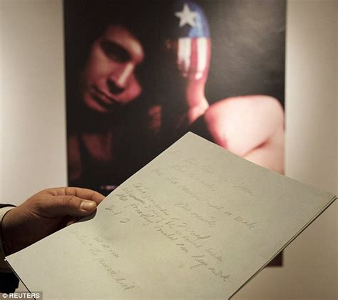 Cristie Original 16 don mclean s american pie manuscript sells for 1 2m at christie s ny daily mail