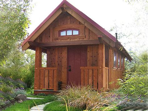 four lights tiny house cottage style house plan 1 beds 1 baths 290 sq ft plan