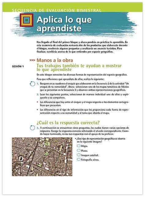 libro geografia de mexico geograf 237 a de m 233 xico y del mundo libro para el maestro