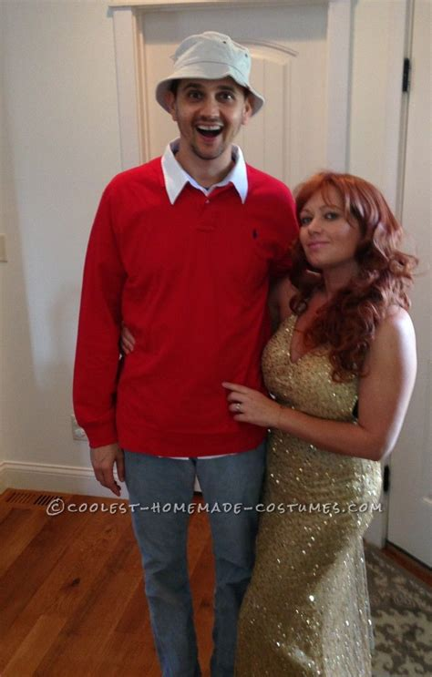 great diy couple costume idea gilligan  ginger
