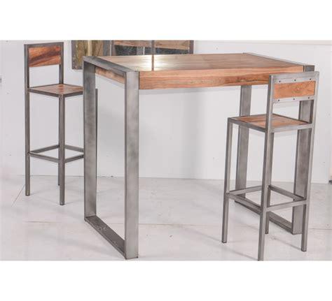 Beau Table De Salle A Manger Style Industriel #4: table-haute-m_tal-loft_1.jpg