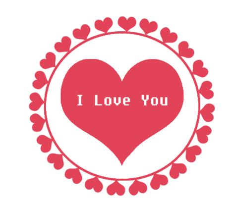 imagenes de i love you facebook i love you sticker for ios android giphy